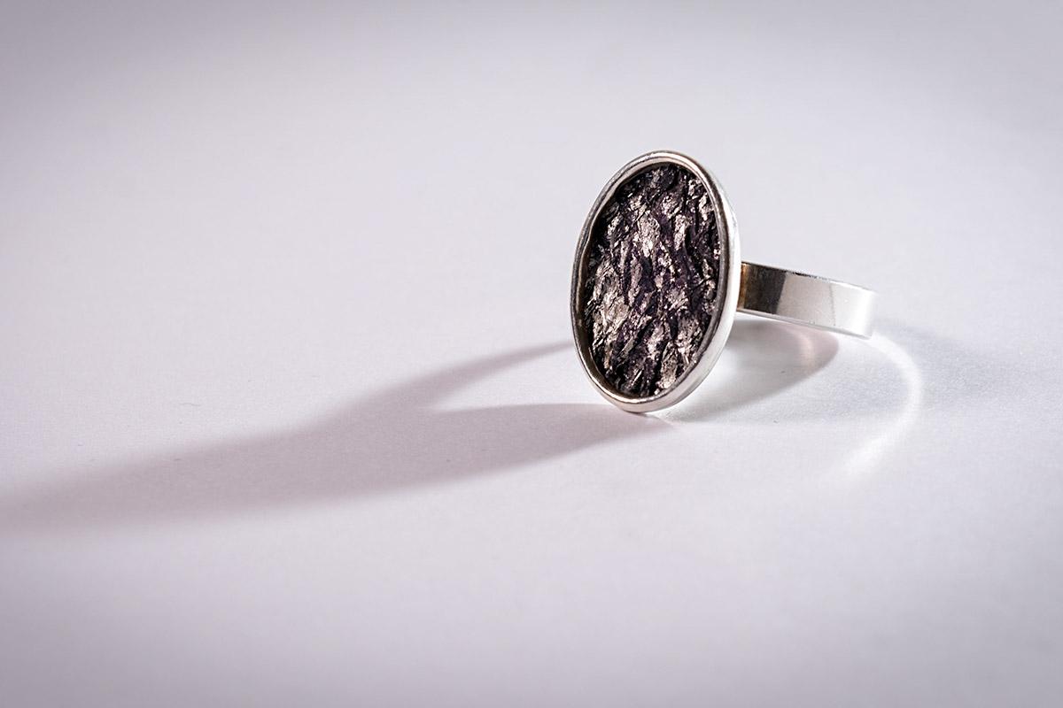 Fingerring sølv